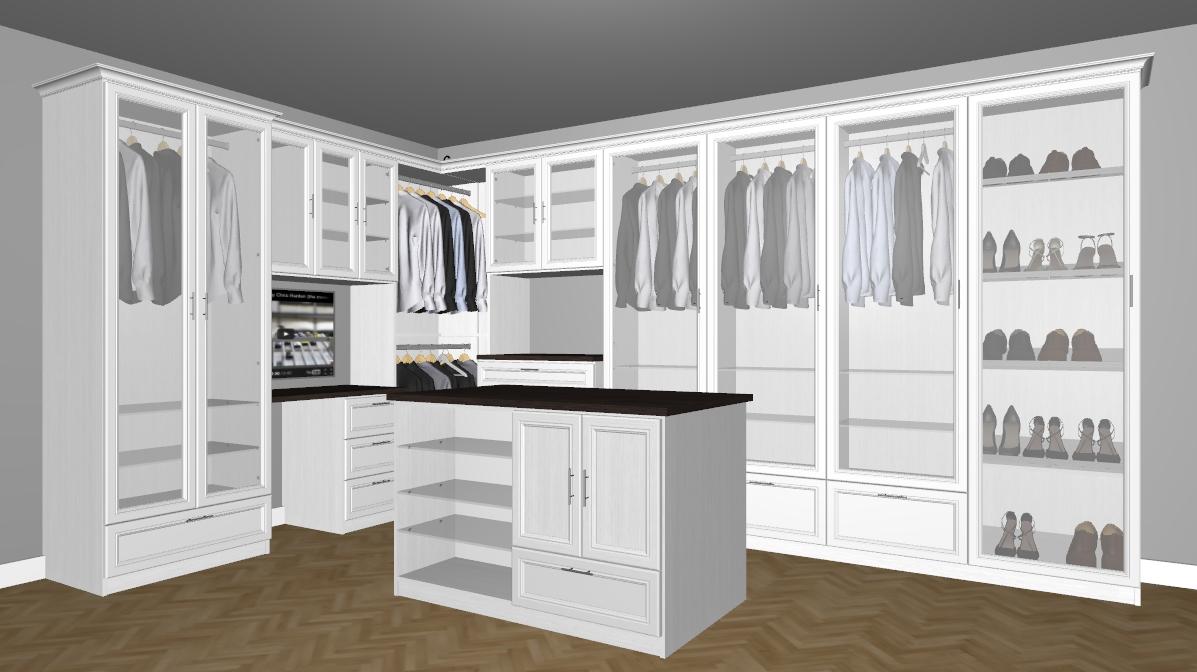 3dcadsoft Walk In Closets